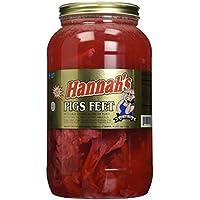 Hannah's Pickled Pigs Feet 4.25lb Jar by Hannah's