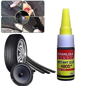 Ficony Sealer 20g Neumático de la Rueda del Coche Herramienta Neumático Sellador Protección Punción Sellante Pegamento para Bici del neumático del Coche ...