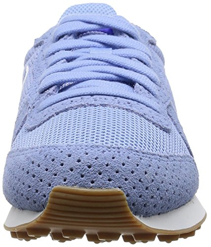 Nike Wmns Internationalist, Zapatillas de Deporte para Mujer, Misto, Media Multicolor (Wolf Grau/Summit Weiß - Gum Medium Braun - Pure Platinum)