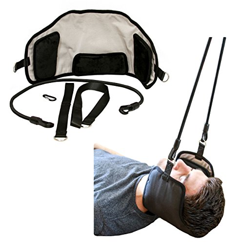 Neck Cradle for Neck Pain Relief - Relaxing Cervical Traction Device Provides Neck Pain Relief by AtlasRelief