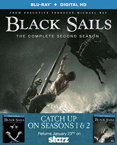 Black Sails: The Complete First and Second Seasons [Blu-Ray]