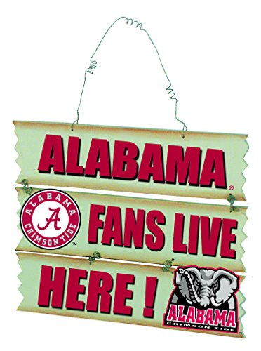 - University Of Alabama Hanging Fan Sign