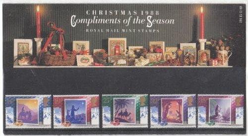 1988 Navidad sellos presentación unidades: Amazon.es: Hogar