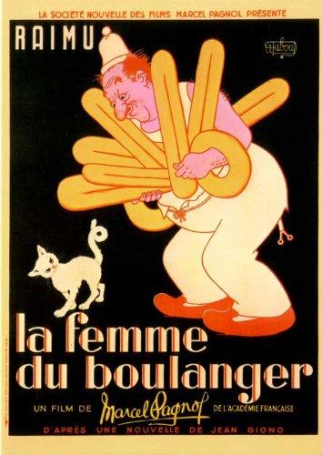 The Bakers Wife Affiche du film Poster Movie La femme du boulanger (11 x 17 In - 28cm x 44cm) French Style A: Amazon.fr: Cuisine & Maison