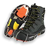 YakTrax XTR Extreme Outdoor Traction (Black/Orange, Medium)