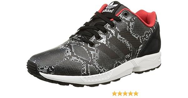 adidasZx Flux B35310 - Zapatillas de Deporte mujer, Core Black ...