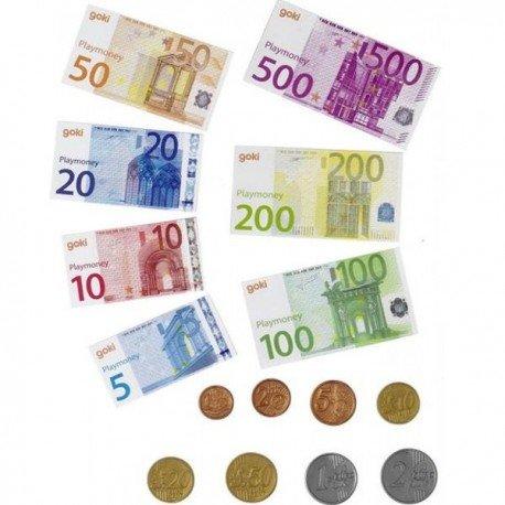 Goki Juego de DINERO FICTICIO Aprendiendo a manejar las divisas.