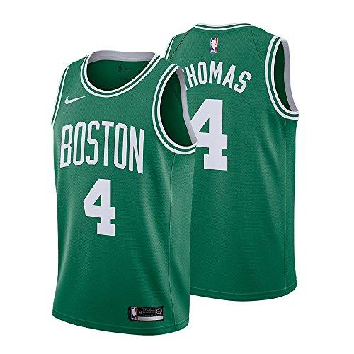Isaiah Thomas Boston Celtics NBA Nike Dri-Fit Youth Green Road Swingman Jersey – DiZiSports Store