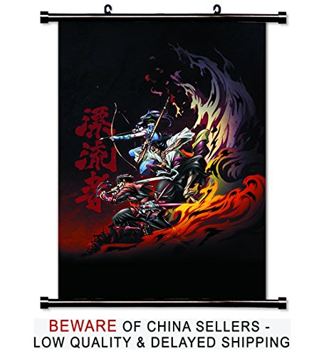 Drifters Anime Fabric Wall Scroll Poster  Inches