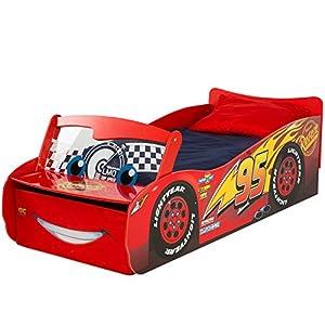 Disney Cars Lightning McQueen Kids Toddler Bed by ...