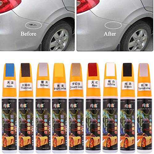 Paint Pen to Repair Scratches on The Car, 9 Colors Mending Car Remover Paint Scratch Remover