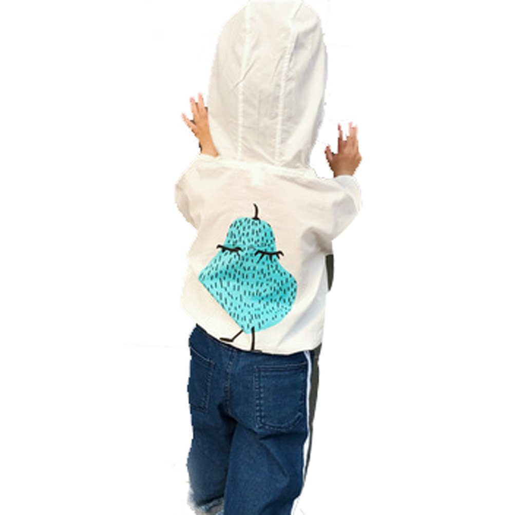 AODEW Kids UV//Sun Protection Zipper Hoodie Coat Lightweight Windbreaker Jacket