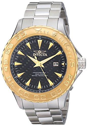 Invicta Men's 12556 Pro Diver Ocean Ghost Black Carbon Fi...