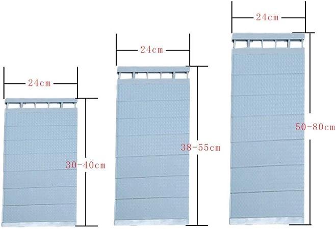 YU LayerDividers plástico ajustable del organizador del armario de almacenamiento estante montado en la pared de bricolaje de madera / ropa / los titulares de la cocina for guardar Bastidores-Café 50-: Amazon.es: