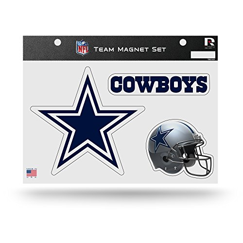 Dallas Magnets Cowboys (Rico NFL Dallas Cowboys NFL Team Magnet Sheet, Blue, 11
