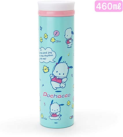 Amazon.com: Pochacco Sanrio - Termo (acero inoxidable, 460 ...