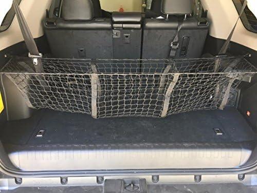 Black Three-Pocket Storage Cargo Net For HONDA CR-V 2012 13 14 15 2016 2017 2018 NEW