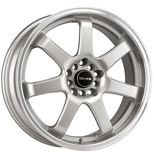 Drag Wheels DR-35 18x7.5/ 5x100/ 5x114.3 Silver rims