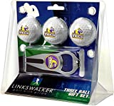 NCAA Tennessee Tech Eagles - 3 Ball Gift Pack with Hat Trick Divot Tool