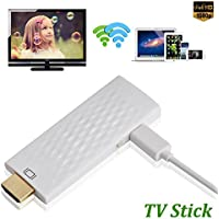 NAMEO Wireless WiFi Display Dongle TV Adapter 1080P HDMI Miracast DLNA AirPlay Support Mirror Function for iPhone 6/6 Plus, iPad and Other Android Smart Phones