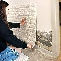10st 3D stereoscopische Wandsticker Anti-collision Soft Brick Brick Wall Foam Wallpaper Renovatie Wallpaper zelfklevende…