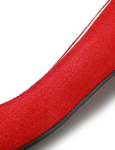us10 negro carrera cn43 plano Flats rojo uk8 5 señaló zapatos talón red 5 PDX eu42 mujeres Toe y oficina casual vestido de las azul gw6xwUPq