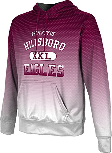 ProSphere Men's Hillsboro High School Zoom Hoodie Sweatshirt (Apparel) - Tx Hillsboro 76645