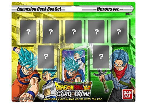 Dragon Ball Super TCG Mighty Heroes Expansion Pack Set - 14 (Super Rare Set)