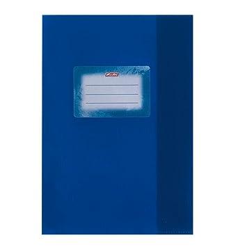 blau DIN A5 Hefth/üllen Farbe 10 Heftumschl/äge Baststruktur