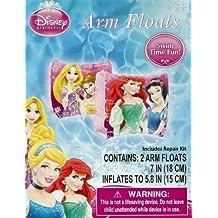 Disney Princess Ariel, Belle, Rapunzel, & Snow White Set of 2 Swimming Pool Arm Floats