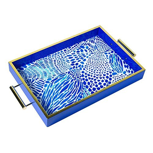 Lilly Pulitzer Blue Tang Gang Hostess Tray by Lilly Pulitzer (Image #1)