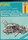 img - for Fiesta Owner's Workshop Manual book / textbook / text book