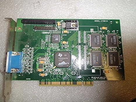 Amazon.com: Creative ct6610 PCI Tarjeta de VGA permedia 2 ...