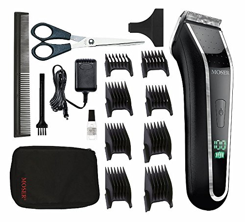 Moser 1902 Lithium Professional Hair Clipper LCD Charge indicator by Moser