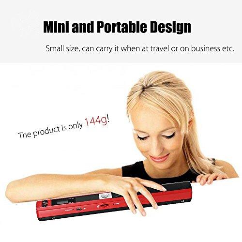 Ingerik Scanner Portable Document Image Handheld Scanner USB Mobile Scanner for Office Home Travel by Ingerik (Image #5)