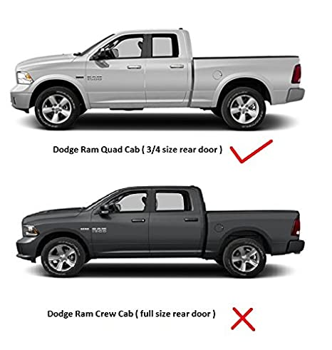 Amazon.com: Dodge Ram 1500 Quad Cab Vent Window Shades Visors Rain