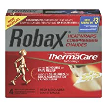 Neck And Shoulder Heatwrap 4 Pack