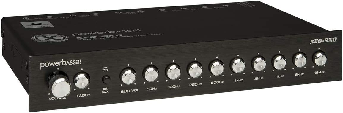 Powerbass Car Audio Eq Sound Processor 9-band Equalizer Pre-amp