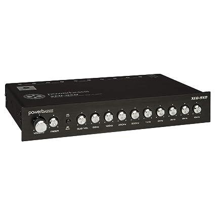 Powerbass Car Audio Eq Sound Processor 9 Band Equalizer Pre Amp