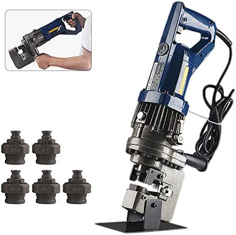 CGOLDENWALL MHP-20 Hydraulic Hole Puncher Electric Hydraulic Hole Punching Tool Hole Digger for Steel Plate Angle Steel Plate Iron Plate Aluminum Plate CE&ROHS Certificate