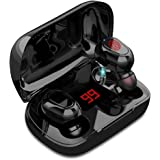 Audifonos Bluetooth Inalambricos,Mini Auriculares inalámbricos con Bluetooth 5.0 Deportivos IPX7 Impermeable, Reduce el Ruido