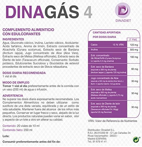 DINAGAS 4 10 ml x 20 Viales
