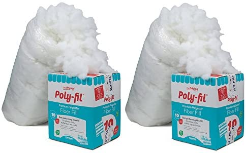 Fairfield PF-10 Poly-Fil Premium Fiber (sdfg, 2 Pack)