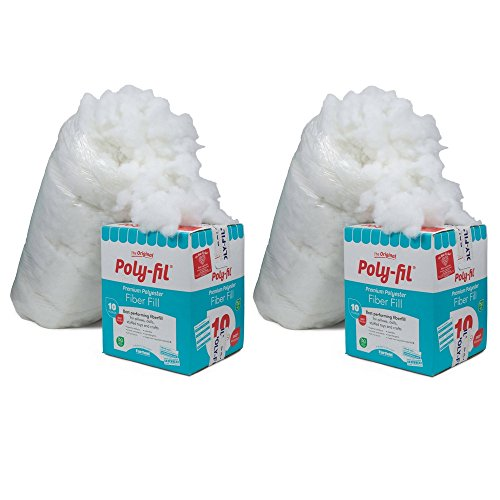 Fairfield PF-10 Poly-Fil Premium Fiber (sdfg, 2 Pack) ()