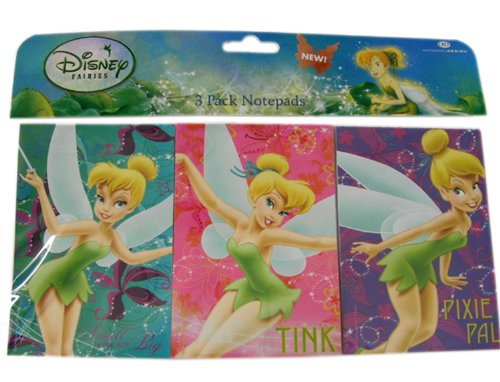 (Disney Tinkerbell Poses Notepad Pack (3 Pack))