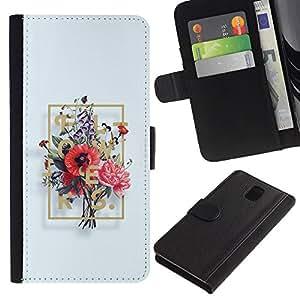 For Samsung Galaxy Note 3 III Case , Pencil Woman Figure Body - la tarjeta de Crédito Slots PU Funda de cuero Monedero caso cubierta de piel