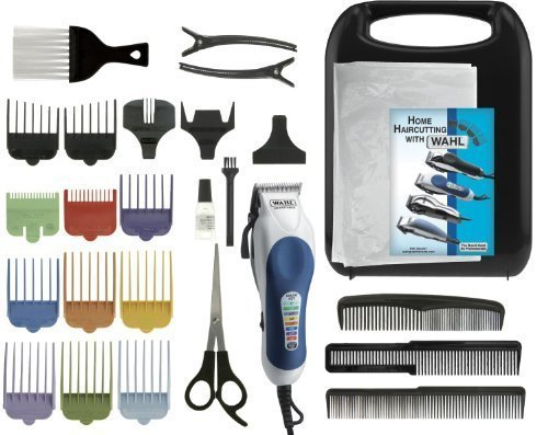 Wahl 25pc Clipper Set with Color Coded Attachments