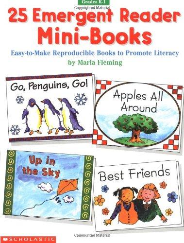 (25 Emergent Reader Mini-Books (Grades K-1))