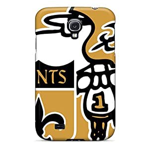 IanJoeyPatricia Samsung Galaxy S4 Shockproof Hard Cell-phone Case Unique Design Trendy New Orleans Saints Series [Cjp10108froU]