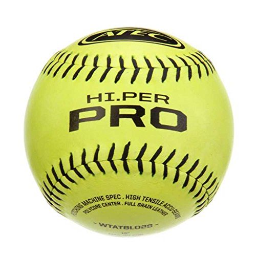 ATEC HI Per Pro Softball (Pack of 12), Optic Yellow (Atec Softballs)